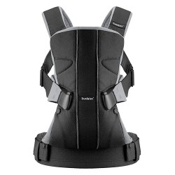 BabyBjörn carrier One Black/Silver