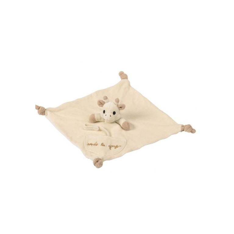 Vulli So'Pure Sophie la girafe® Comforter with Dummy Holder