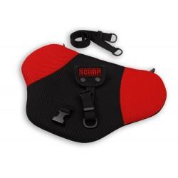 Scamp bezpečnostní pás pro těhotné Černo-červený