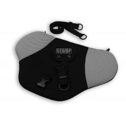 Scamp bezpečnostní pás pro těhotné Černo-šedý