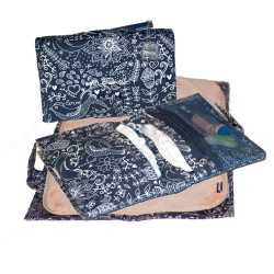 Melobaby Love nappy wallet Deep Blue