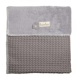 Koeka deka Oslo 100x150cm 280 taupe/610 soft grey