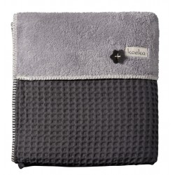 Koeka deka Oslo 100x150cm 650 dark grey/610 soft grey