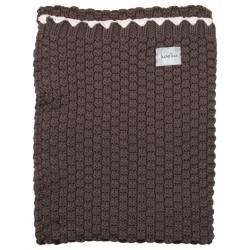 Koeka blanket Valencia 75x100 650 dark grey
