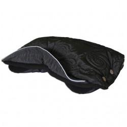 Aesthetic Handwarmer textured 319-319 Black Spiral/Black