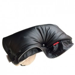 Aesthetic handwarmer leather imitation