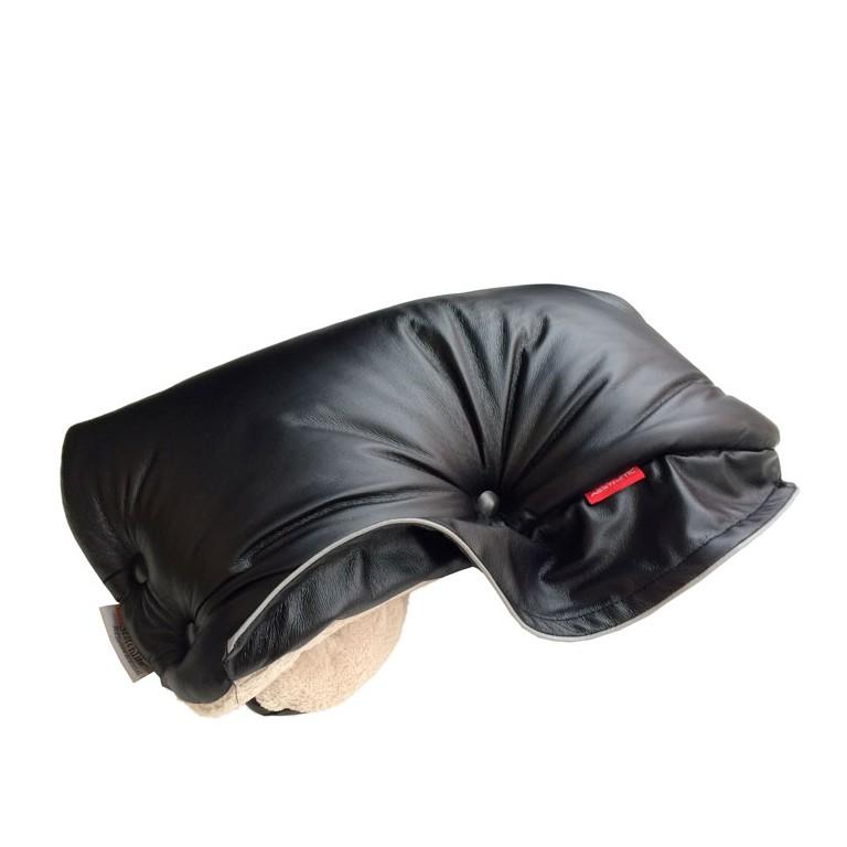Aesthetic handwarmer leather imitation