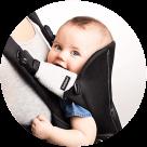 BabyBjörn ochrany na popruhy nosítka