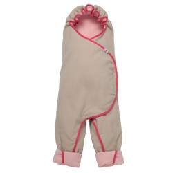 Lodger Wrapper Motion Fleece Baby Pink