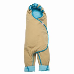 Lodger Wrapper Motion Fleece Azur