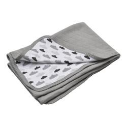 Lodger Dreamer Quilt 100x150cm Grey