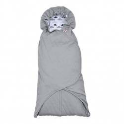 Lodger Wrapper Clever Quilt Grey