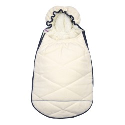 Lodger Mini Bunker Fleece Off White