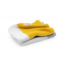 Bugaboo lehká bavlněná deka 80x100 cm Bright Yellow Multi