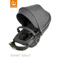 Sportovní sedačka Stokke Xplory & Trailz Black Melange