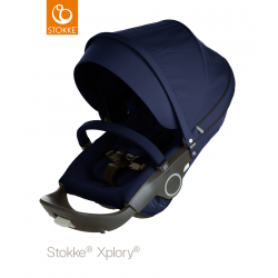Sportovní sedačka Stokke Crusi & Xplory & Trailz Deep Blue