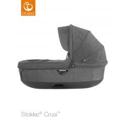 Stokke hluboké lůžko Crusi & Trailz Black Melange