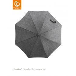 Stokke parasol Black Melange