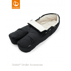 Stokke footmuff Black