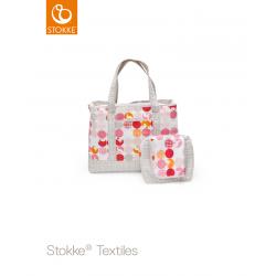 Stokke Nursing Bag (přebalovací taška) Silhouette Pink