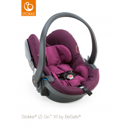 Stokke iZiGo X1 by BeSafe Purple