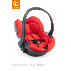 Stokke iZiGo X1 by BeSafe Red
