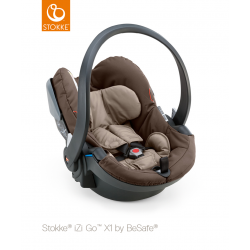 Stokke iZiGo X1 by BeSafe Brown