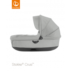 Stokke hluboké lůžko Crusi & Trailz Grey Melange
