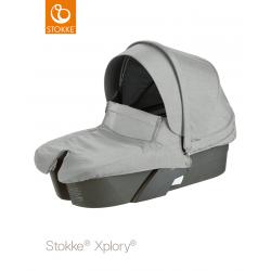 Hluboké lůžko Stokke Xplory Grey Melange