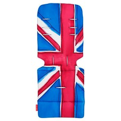Maclaren seat liner Union Jack/Princess Blue