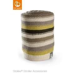 Stokke knitted blanket Forest