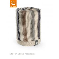 Stokke knitted blanket Horizont
