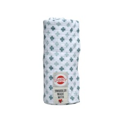 Lodger Swaddler Cotton Scandinavian Print Bali/Iced