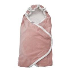 Lodger Wrapper Newborn Scandinavian Flannel Blush