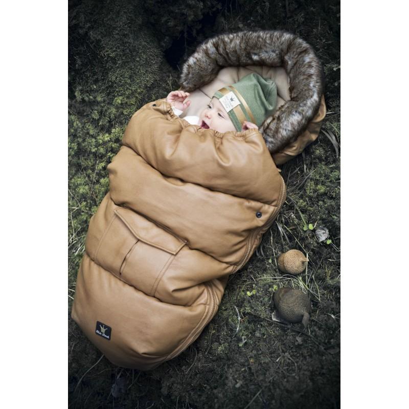 Elodie Details Stroller Bag Chestnut Leather Mybabystore Cz