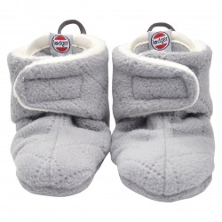 Lodger Slipper Fleece Scandinavian Greige 0-3 m