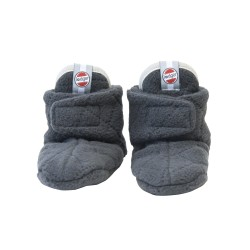 Lodger Slipper Fleece Scandinavian Coal 0-3 m