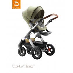 Stokke Trailz Nordic Green + lůžko