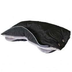 Aesthetic Handwarmer textured 319/219 Black Spiral/Beige