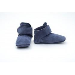 Lodger Walker Leather Denim Blue 12-15m