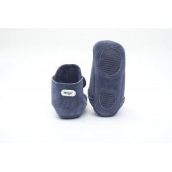 Lodger Walker Leather Denim Blue 15-18m
