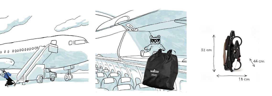 Babyzen YoYo+ do letadla