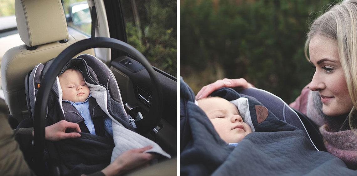 Voksi deka do autosedačky