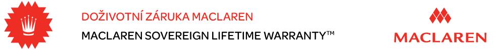 Doživotní záruka Maclaren
