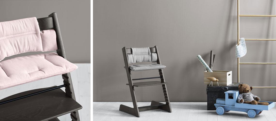 stokke tripp trapp new colours. Black Bedroom Furniture Sets. Home Design Ideas
