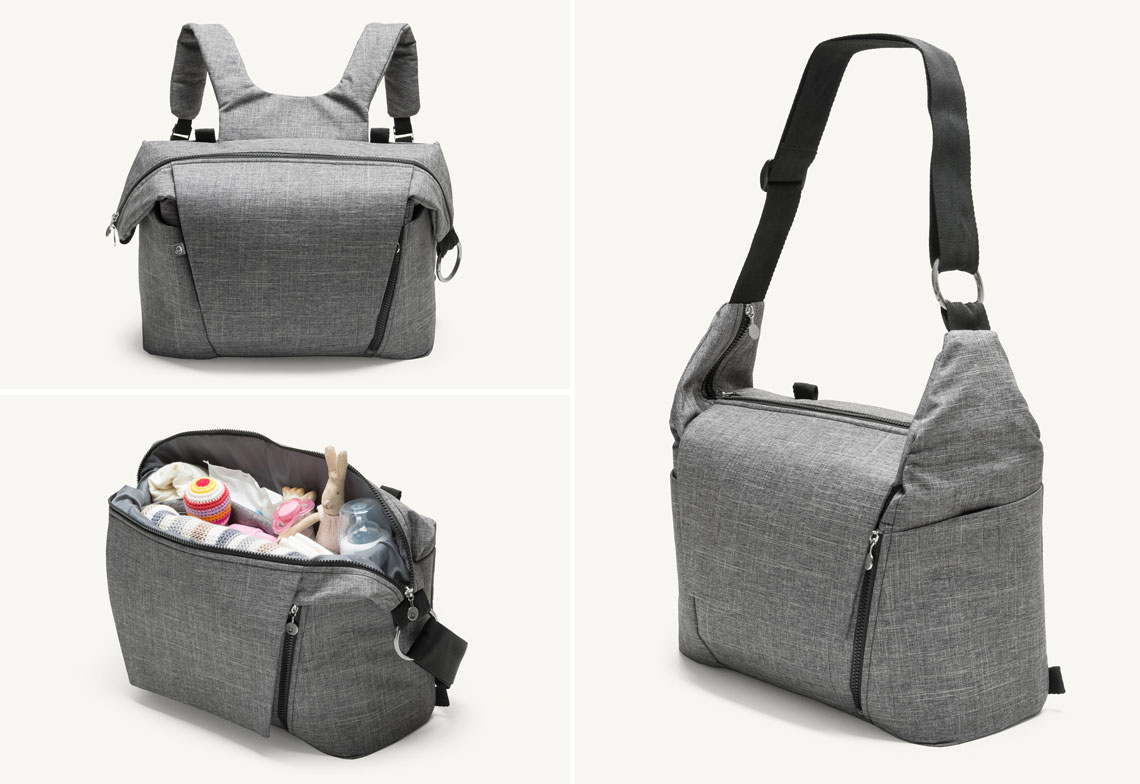 What s in a bag  Everything if you re out with your baby. 30c2abf7a83
