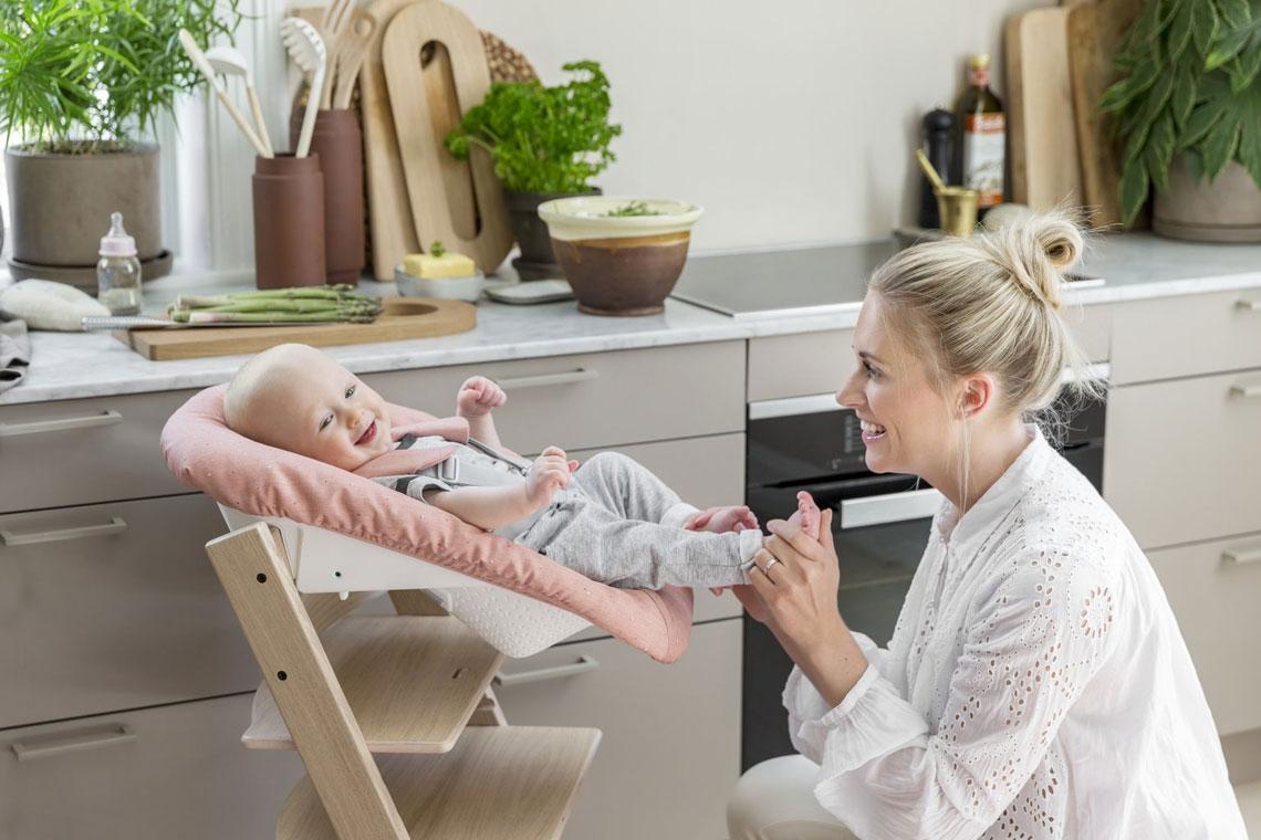 Novorozenecká sada Stokke Pink