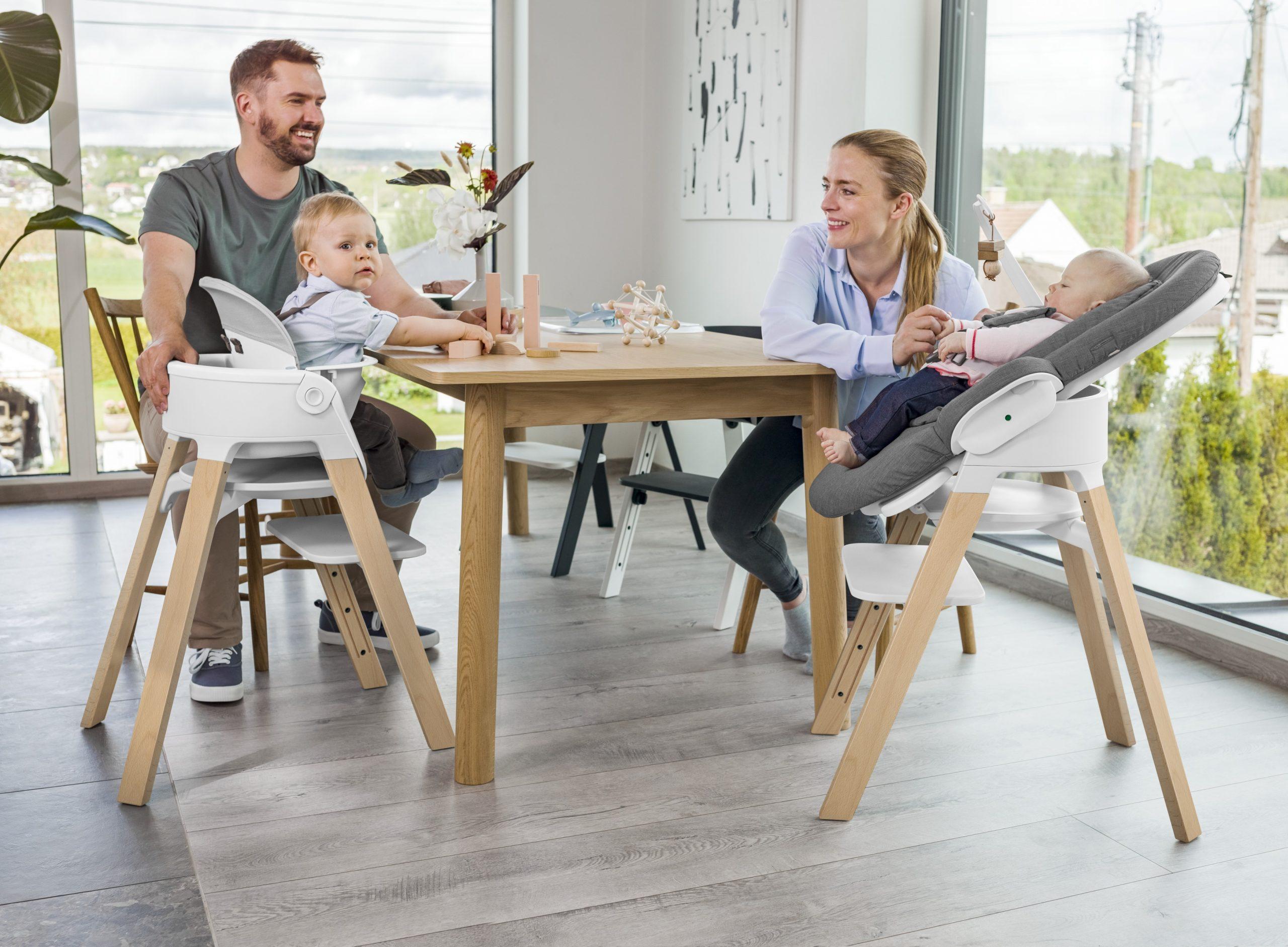 Stokke Steps jídelní rostoucí židlička