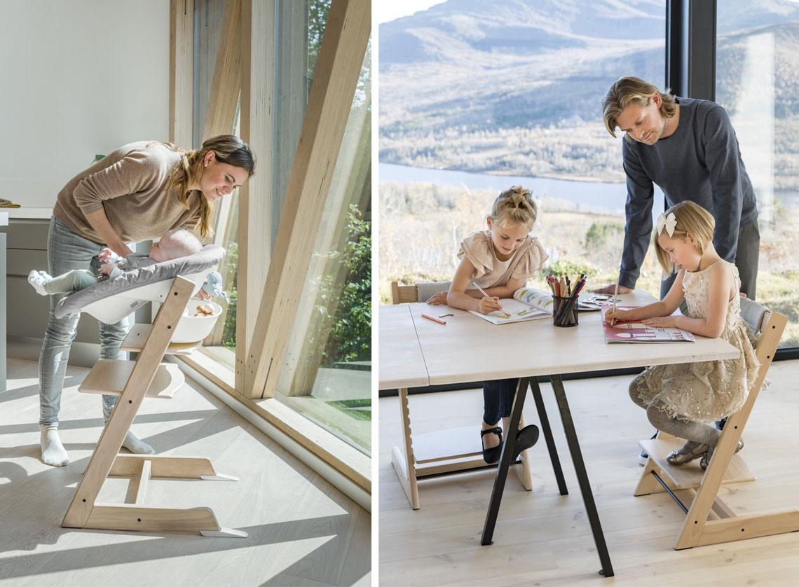 Stokke Tripp Trapp jídelní rostoucí židlička