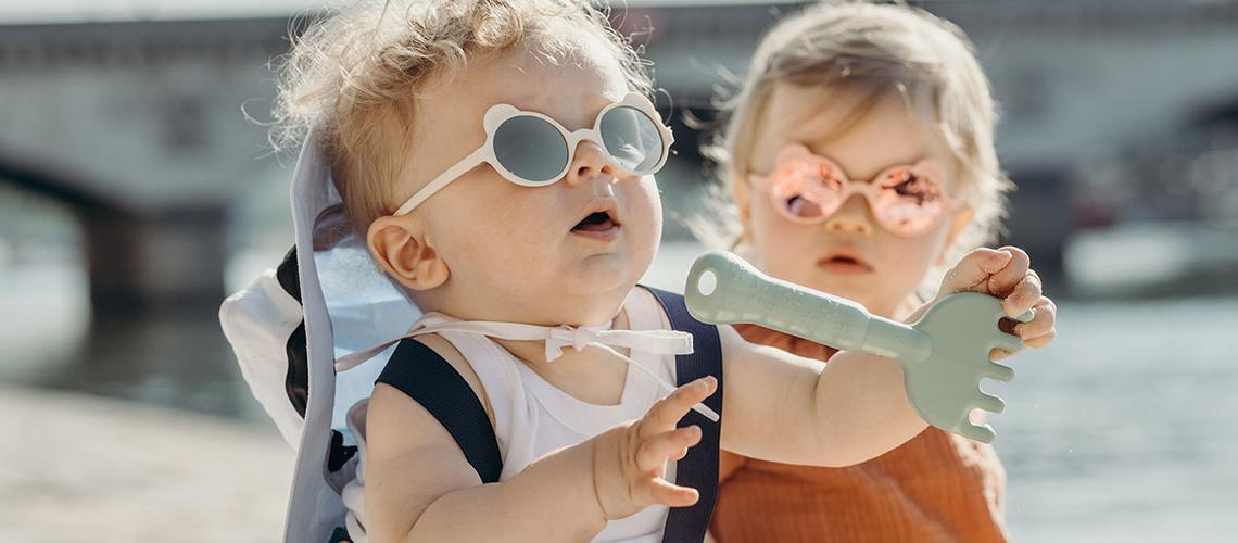 KiETLA dětské sluneční brýle Ours'On